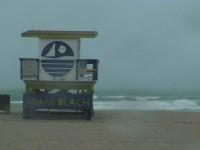 Miami Beach Storm Stock Video Footage