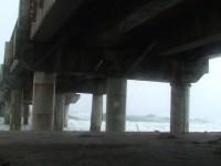 Typhoon Pier Stock Video Footage