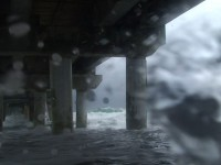 Hurricane Storm Surge Stock Video Footage