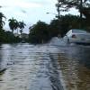 Flooded Street Stock Video Footage