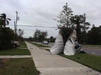 Hurricane Aftermath Stock Video Footage